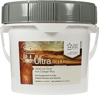 UltraCruz sc-364930 Goat Iron Charge Plus Supplement, 10 lb, Pellet (215 Day Supply)