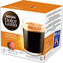 Nescafe Dolce Gusto Coffee Pods, Grande Intenso, 16 capsules, Pack of 3