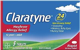Claratyne Hayfever Allergy Relief Antihistamine - 5 Tablets