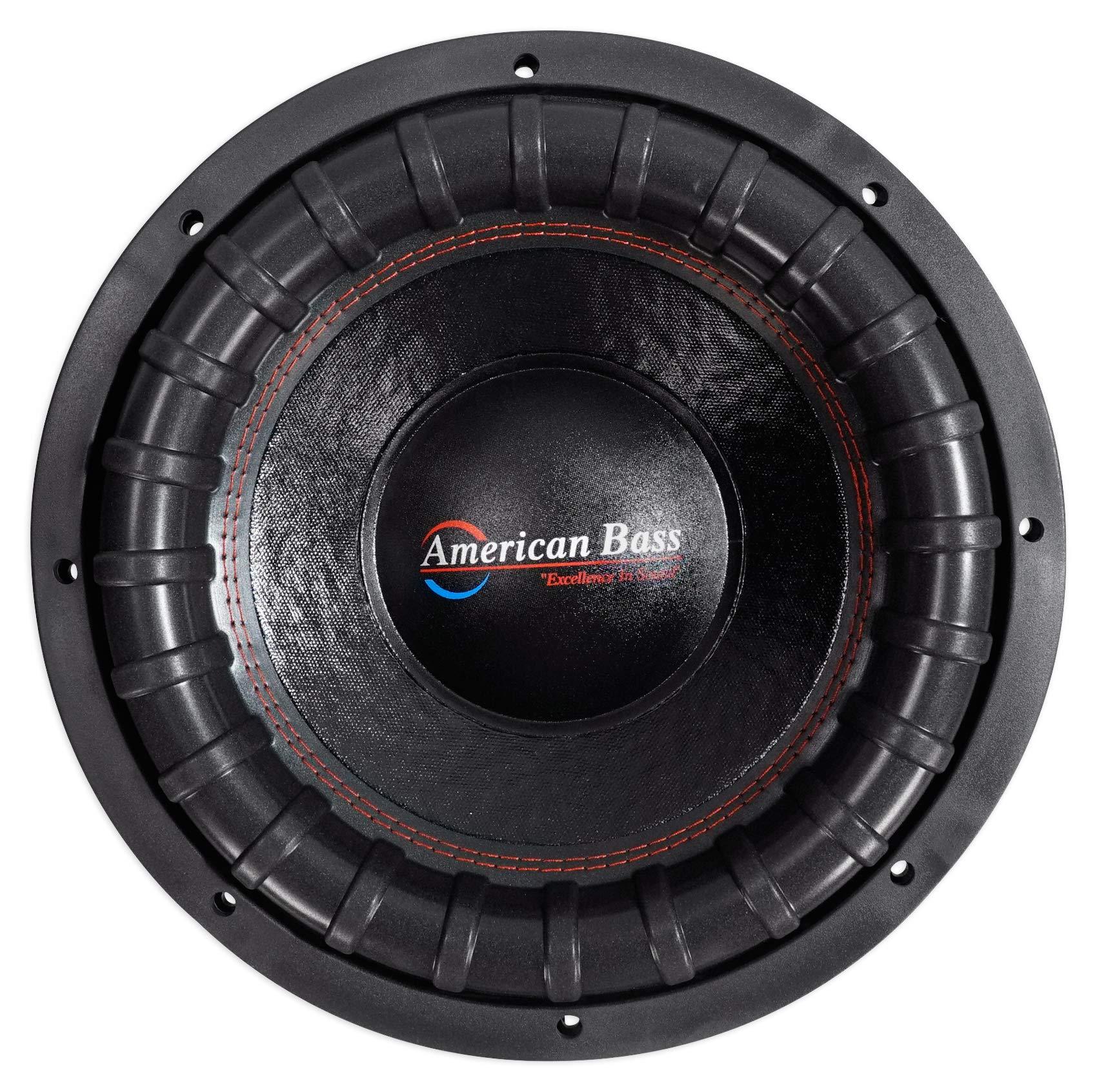 "American Bass USA XFL 1244 2000W Max Dual 4Ω 12"" Subwoofer"