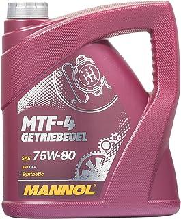 MANNOL MTF de 4getriebeoel 75W de 80API GL de 4, 4L