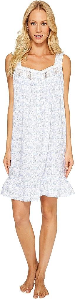 Eileen West - 100% Cotton Lawn Short Nightgown