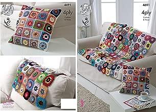 Amazon.es: Cojines A Crochet