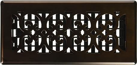 Decor Grates SPH410-RB Floor Register, 4x10, Rubbed Bronze Finish