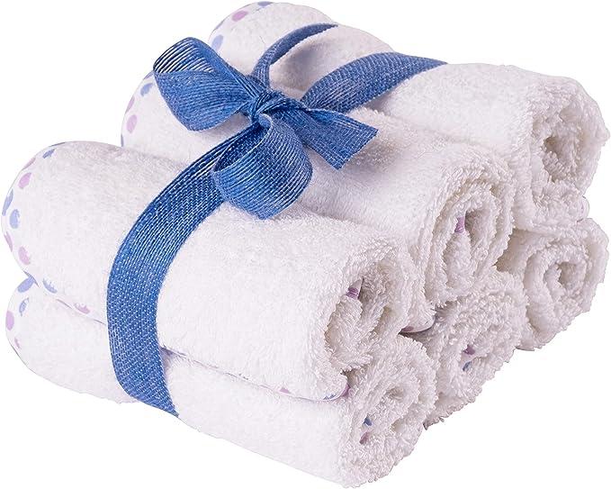 48 opinioni per Asciugamani Bambini in Cotone Naturale- Lavette Neonato in Spugna- Super