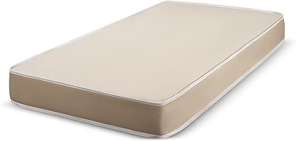 双周床上用品月英寸厚的泡沫床垫耐用布面 33x74 寸房车简易床折叠床沙发床 CertiPUR 美国认证美国制造