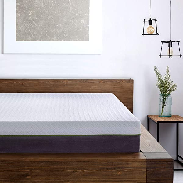 12 Inch California Split King Copper Infused Cool Memory Foam Mattress Developed For Adjustable Bed Bases With Medium Firm Feel Support And CertiPUR US Certified