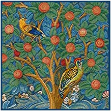 Tree of Life Detail by William Morris Counted Cross Stitch Pattern
