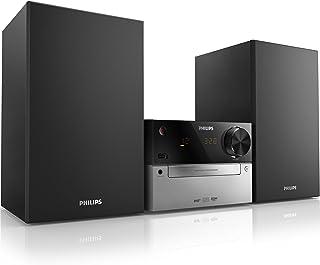 comprar comparacion Philips MCB2305 - Microcadena (Micro set, Negro, Corriente alterna, CD, CD-R, CD-RW, MP3, Fast backward, Avance rápido, Ne...
