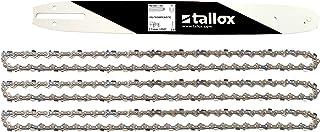 compatible con Stihl y otros 6 unidades 44 eslabones diente de corte largo 3//8 Cadena de sierra SWS Forst 1,3 mm