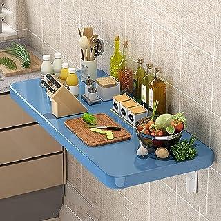 DZCGTP Table à abattant Murale Pliante, établi de Table Pliante Flottante multifonctionnelle, Table de Cuisine et de Salle...