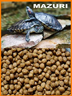 Mazuri Aquatic Turtle Diet,Extruded 3.9mm Floating Pellet - 4 lbs