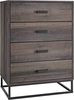 HOMECHO 4 Drawer Dresser, Wide Chest of Drawers, Wood...