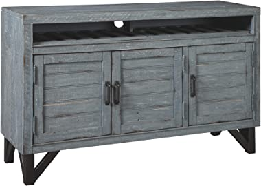 Signature Design by Ashley Jainworth Accent Cabinet, Antique Blue