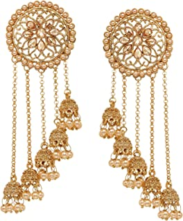 earrings for golden gown