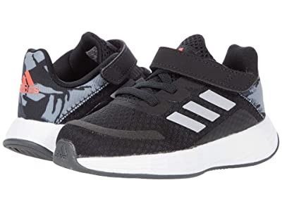 adidas Kids Duramo SL (Infant/Toddler) (Black/Halo Silver/Solar Red) Kid