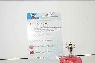 HeroClix Marvel Civil WAR: WASP #008 W/Card