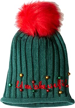 """Take an Elfie"" Beanie Hat"