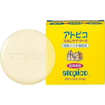 アトピコ スキンケアソープ 80g (敏感肌 乾燥肌 精製ツバキ油配合)