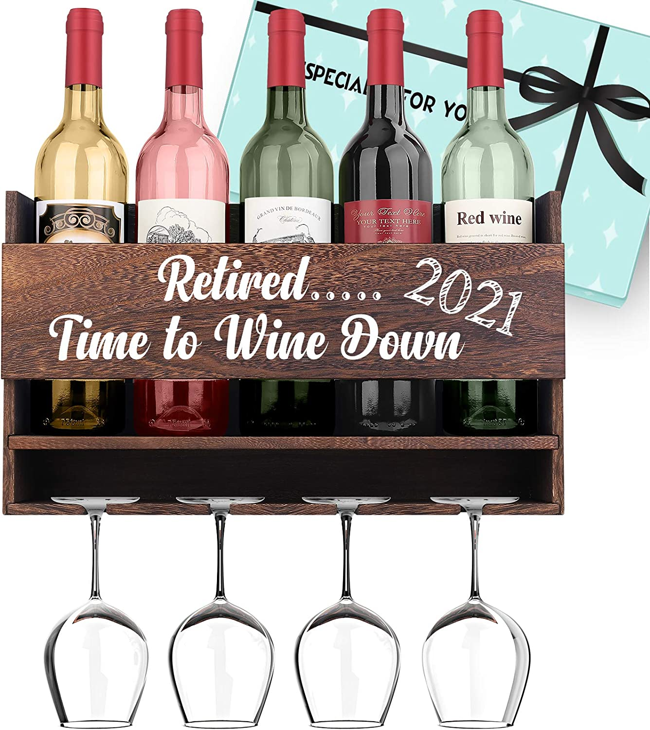 Anniversary Gifts for Her Gifts for Him Love The Wine Youre With Wine Rack Valentines Day Gifts for Boyfriend Romatic Gifts for Girlfriend Birthday Gifts for Husband Gifts for Wife Wedding Gifts for Couples