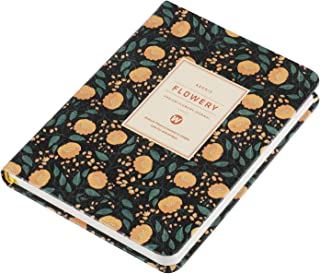 Daily Planner 2019, Calendar Schedule Organizer and Journal Notebook,Non Dated Day,1 Year Guarantee A6(Black Adonis)