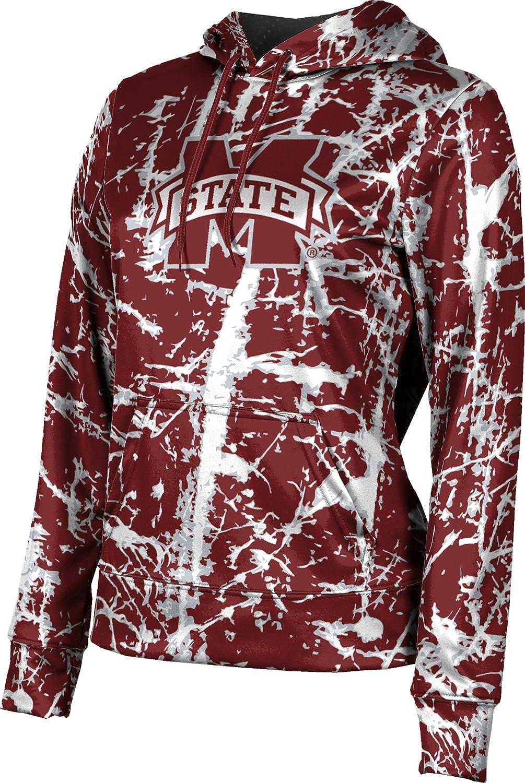 ProSphere Mississippi State University Girls' Pullover Hoodie, School Spirit Sweatshirt (Distressed)
