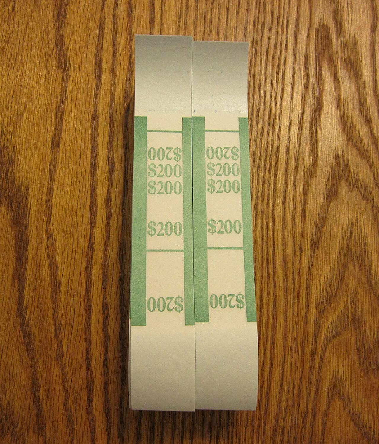 100 SELF Sealing Currency Straps PMC Bill Outlet ☆ Free Shipping Bands $200 Fixed price for sale Money