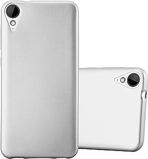 590c1d8e73d Cadorabo Funda para HTC 10 Lifestyle/Desire 825 en Metallic Plateado –  Cubierta Proteccíon de