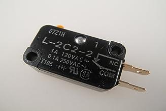 Panasonic apta para microondas inversor de manivela para puerta interruptor/microinterruptor, L-2C2-2