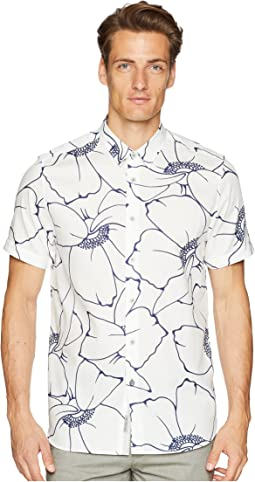 Andle Short Sleeve Linear Floral Shirt