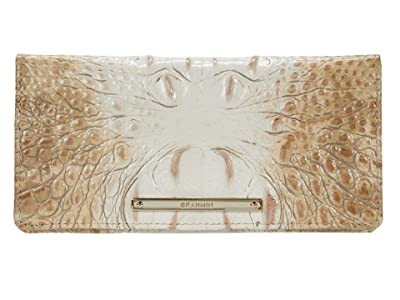 Brahmin Ombre Melbourne Ady Wallet (Praline) Wristlet Handbags