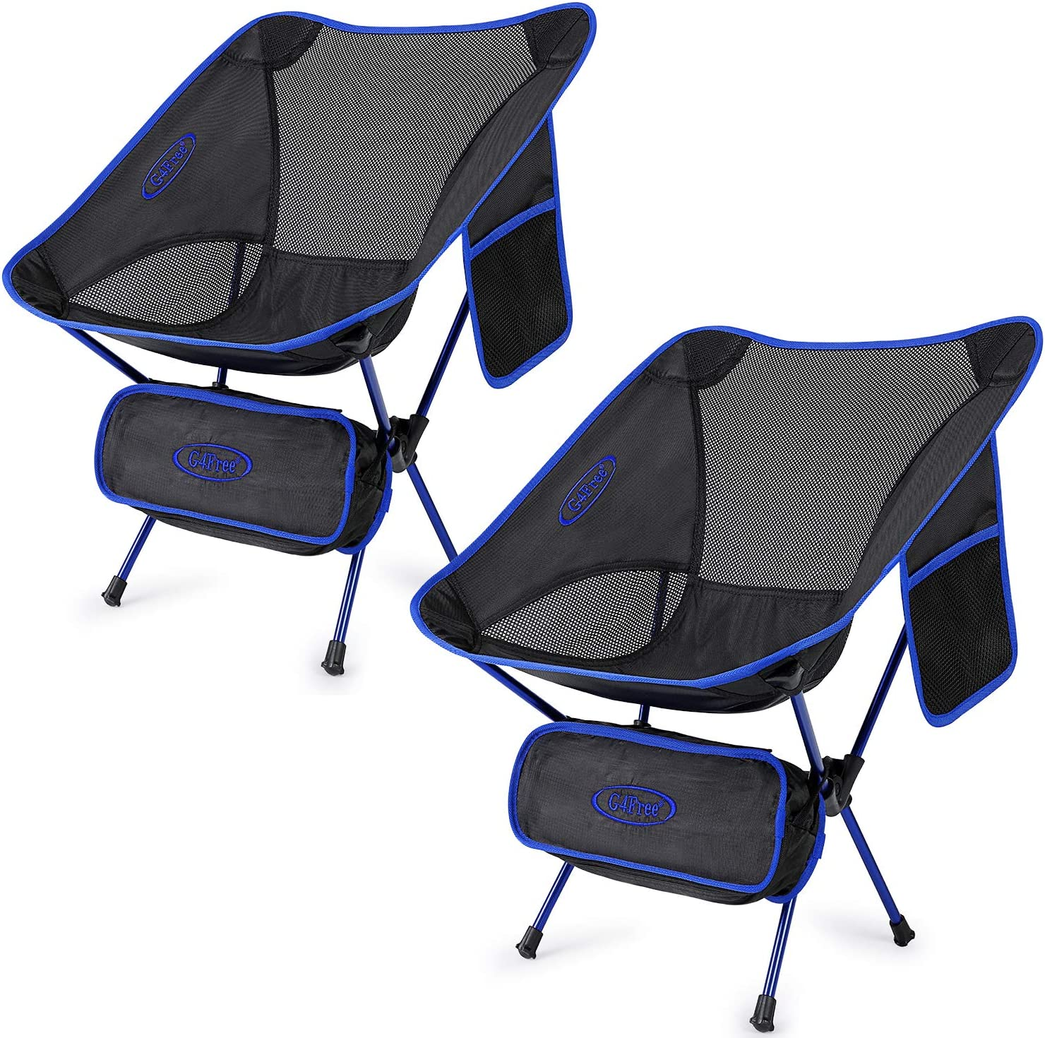 Limited time for free shipping G4Free Upgraded 2 Pack Ultralight Portabl gift Camping Chair Folding