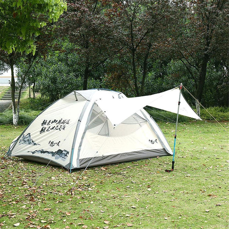 AntiUV,SpaciousTent, 23 Person Outdoor Camping Tents Rainproof Waterproof Lightweight 3 Season Hiking Travel Tent,C,210  140  110CM