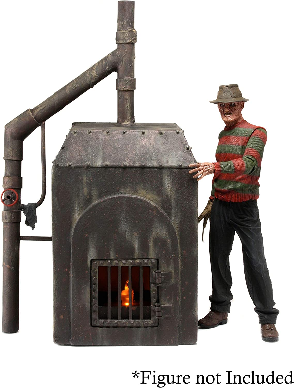 NECA  Nightmare on Elm Street  Diorama Element  Freddy's Furnace