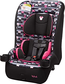 Disney Baby Jive 2-in-1 Convertible Car Seat, Minnie Stripes