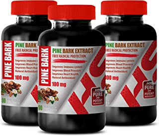 Brain Booster Supplements - Pine BARK Extract 100 MG - Natural Appetite SUPPRESSANT - Appetite suppressant for Women Weigh...