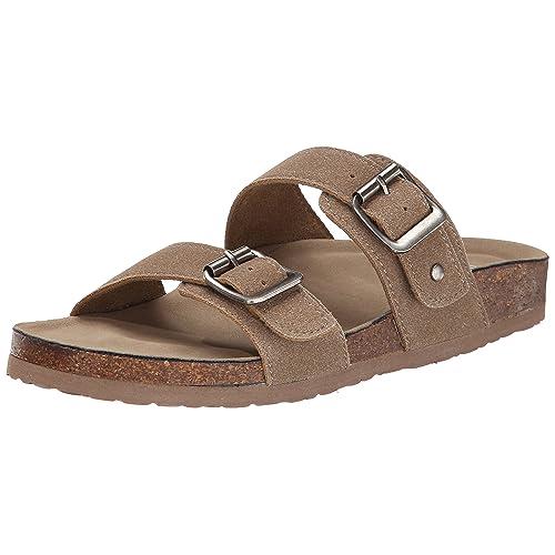 0ca0f09973b8 Madden Girl Women s Brando Slide-On Sandal