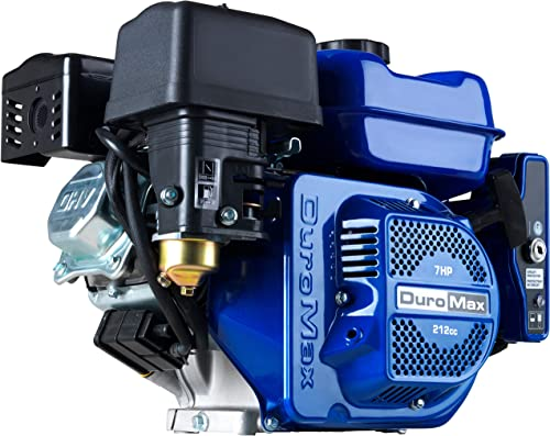 popular DuroMax XP7HPE 212cc 7HP Electric Start Gas Powered, 50 State online sale Approved, wholesale Multi-Use Engine , Blue online sale