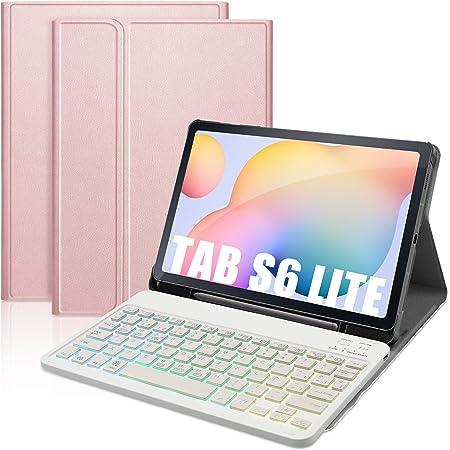 DINGRICH Funda Teclado para Samsung Galaxy Tab S6 Lite 10.4 ...