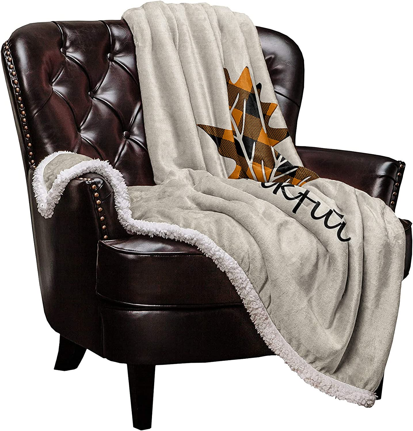 All stores are sold All items in the store DaringOne Maple Sherpa Fleece Blanket Throw Flannel Double-Side