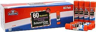 Elmer's Disappearing Purple School Glue Sticks, Washable, 0.24 Ounce Glue Sticks for Kids | School Supplies | Scrapbooking...
