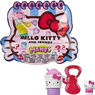 Sanrio Hello Kitty Mini Figuras Coleccionables con un lápiz y un llavero (Mattel GVB10)