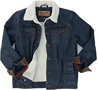Wrangler Boys' Lined Denim Jacket