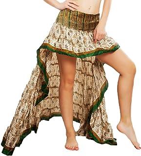 6e9397d16c29 Toocool - Gonna Donna Asimmetrica Coda Ibiza Fantasia Indiana Gipsy Boho  Chic PW-29