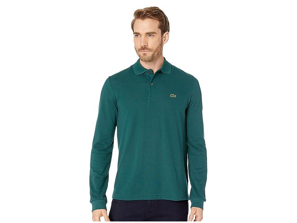 Lacoste Long Sleeve Classic Pique Polo Shirt (Aconit) Men