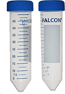 50 ML FALCON CENTRIFUGE Tubes, Polypropylene, STERILE, Pack of 25