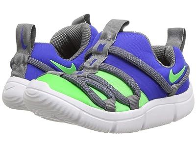 Nike Kids Novice (Infant/Toddler) (Racer Blue/Scream Green/Cool Grey/White) Girls Shoes