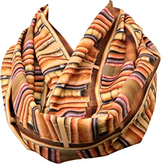 Book infinity scarf library literary Bookshelf Colorful Circle Scarf Loop Scarf