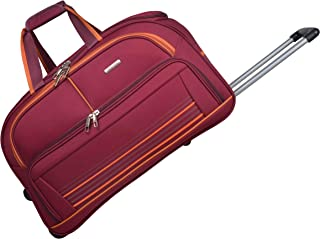 Murano Polyester 20 inches Maroon Travel Duffle (9020021_K)