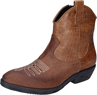 IMPICCI Boots Womens Leather Brown